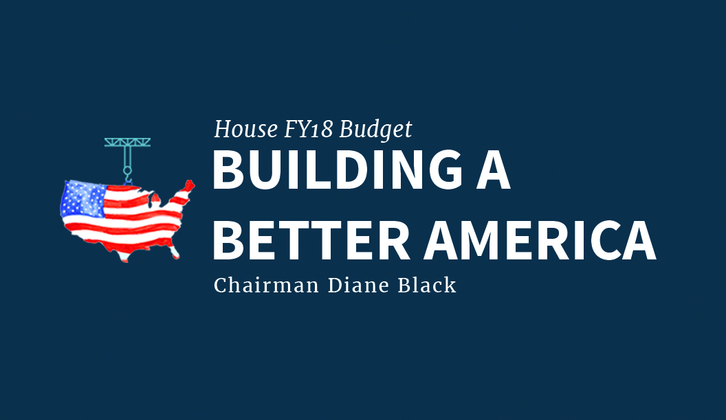 Image for Chairman Black Opening Statement for FY 2018 Budget Markup